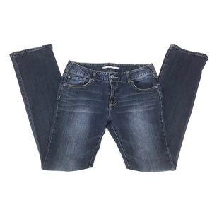 "Brody Jeans Stonewash Bootcut 36"" Inseam Jeans, 32"